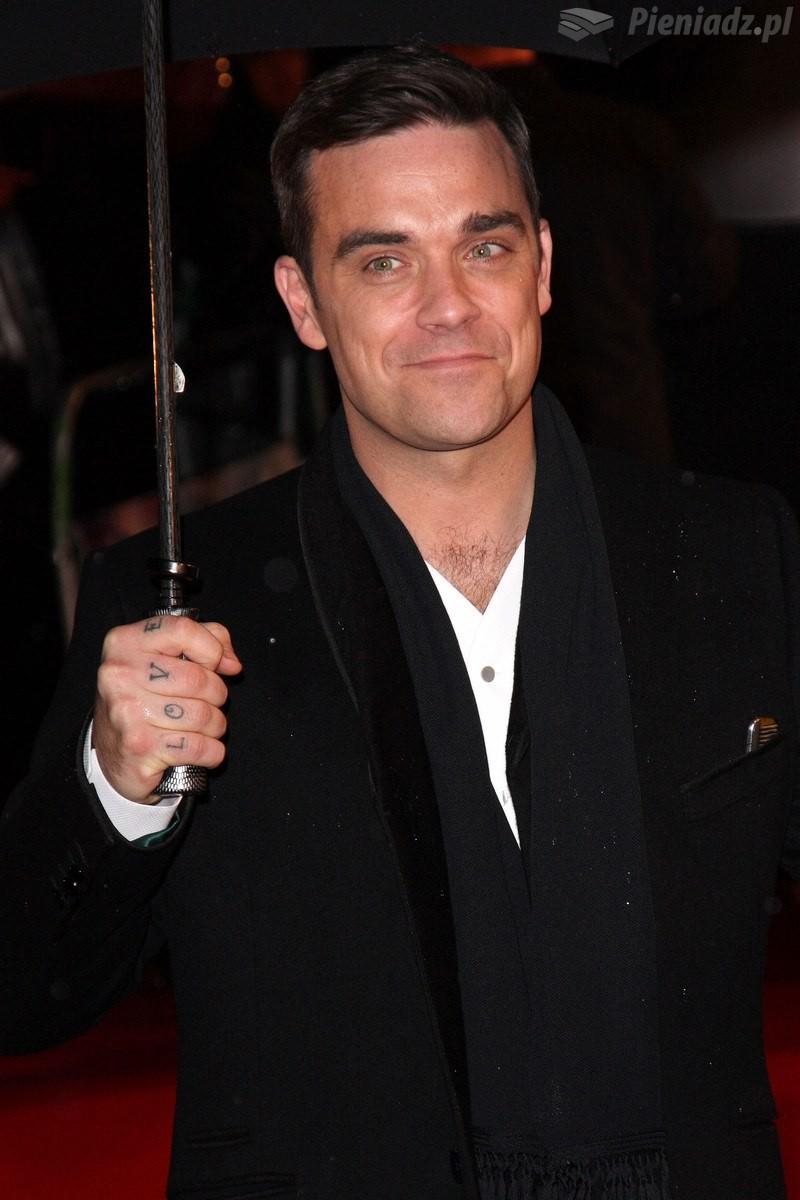 Robbie Williams projektuje ubrania