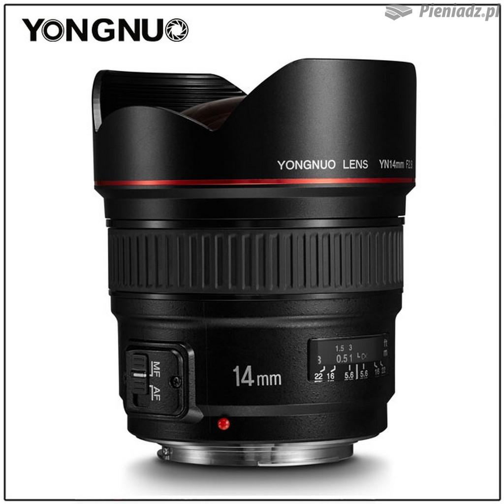 Yongnuo YN 14 mm f/2.8